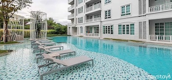 Summer Huahin Condo 2 Bedrooms Pool View By Dome - Outdoor Pool  - #0