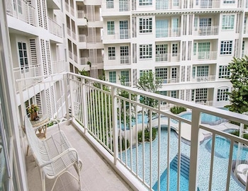 Summer Huahin Condo 2 Bedrooms Pool View By Dome - Balcony View  - #0
