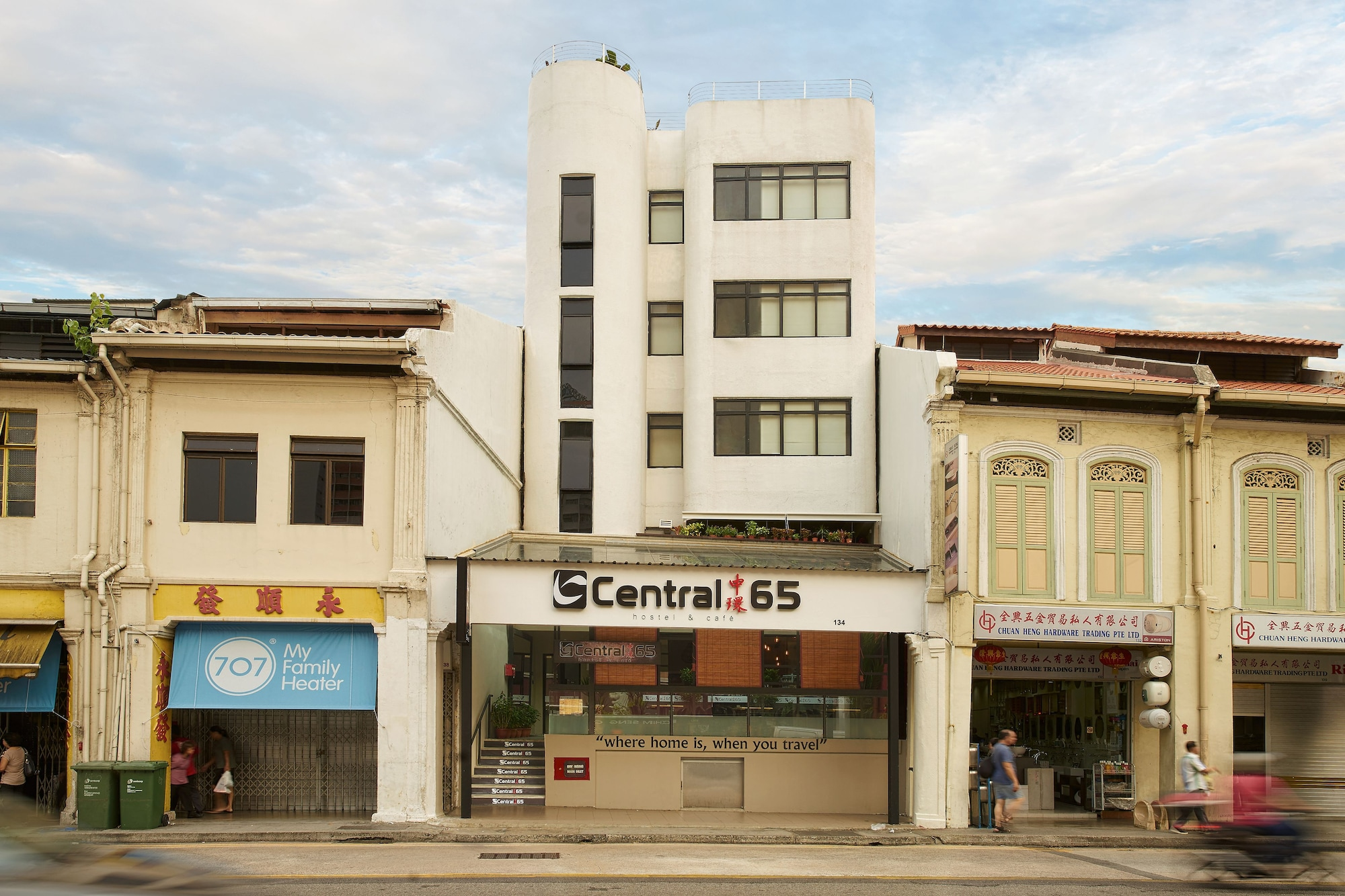 Central 65 Hostel & Cafe, Rochor