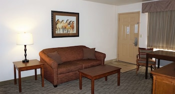 Suite, 1 King Bed, Non Smoking, Jetted Tub (Sofabed is a double bed)