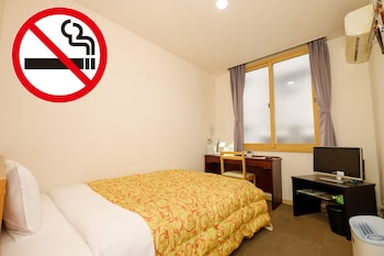 東館 シングルルーム B-OB [客室 風呂無し] 禁煙|天然温泉 松山ニューグランドホテル