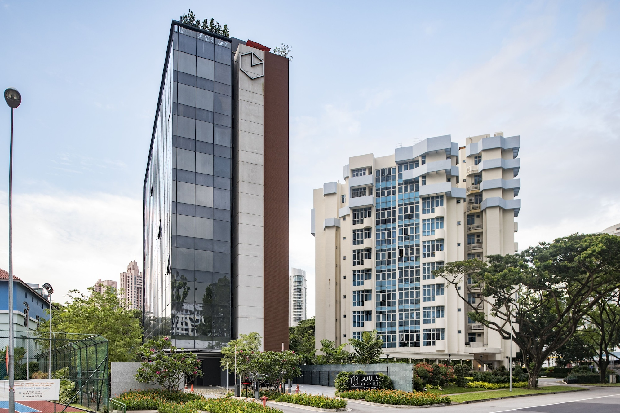 Louis Kienne Serviced Residences, Singapore River