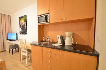 Studio, 1 Doublebed, Non Smoking, Kitchenette, 50€ cleaning fee on top of the rate