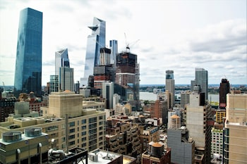 Room, 2 Double Beds, Non Smoking, View (Manhattan View)