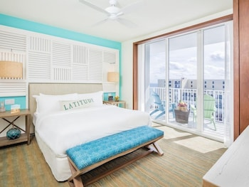 Partial Ocean View 1 King Bed