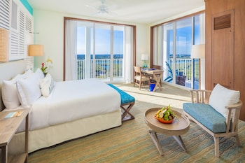 Junior Suite, King bed , Sunset Intracoastal View