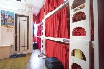Standard Shared Dormitory, Mixed Dorm, Terrace, Sea View