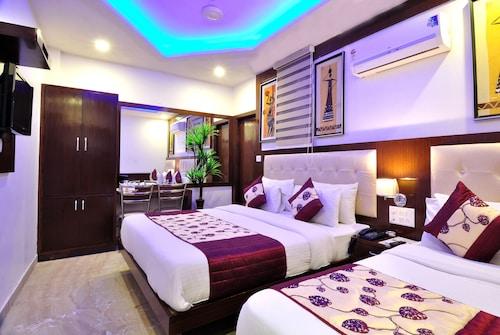 Nowe Delhi - Hotel Nirmal Mahal By Check In Room - ze Szczecina, 1 kwietnia 2021, 3 noce
