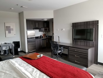 Standard Suite, 1 King Bed with Sofa bed, Non Smoking, Kitchen