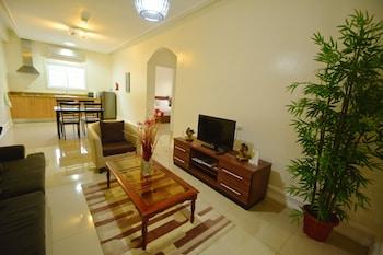 Olivia Resort Homes Bohol Living Area