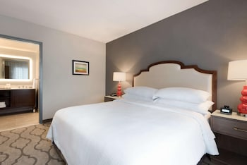 Suite, 1 King Bed, Non Smoking (Accessible with Roll-In Shower)