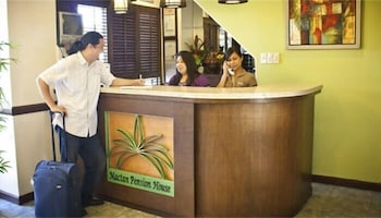 Mactan Pension House Reception