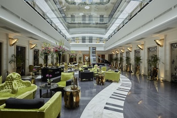 Aria Hotel Budapest by Library..
