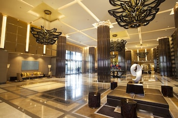 Crown Towers Manila Lobby Sitting Area