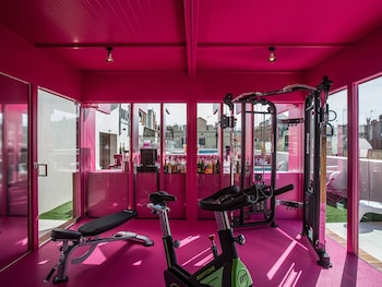 Gym Hotel Entrance