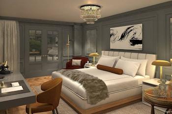 Premium Suite, 1 King Bed, Patio