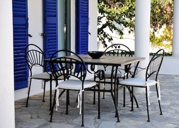 Villas Ftelia - Terrace/Patio  - #0