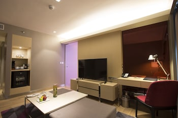 Novotel Hotel Araneta Center Living Room