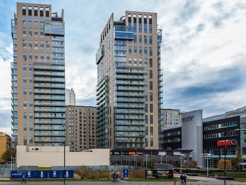 Warszawa - Chopin Apartments Platinum Towers - z Katowic, 17 marca 2021, 3 noce