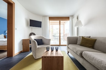 Luxury Apartment, 2 Bedrooms, Non Smoking, Mountain View (Weisse Perle)
