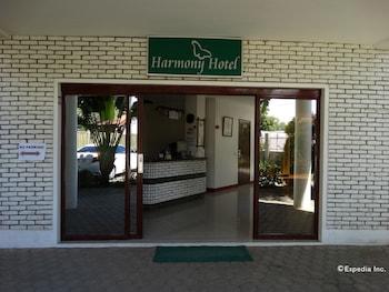 Harmony Hotel Bohol Property Entrance
