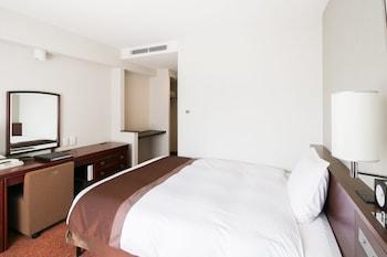 [4・5階] ワケあり シングルルーム 禁煙  (窓の外に機械類があり外の景色がご覧いただけません)|福山ニューキャッスルホテル
