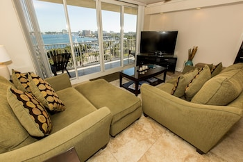 Waterview Towers by Holiday Isle - Living Room  - #0