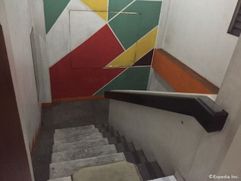 Drifters British Pub and Apartelle Bacolod Staircase