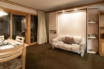 Standard Studio, 1 Queen Bed, Kitchen, Mountainside