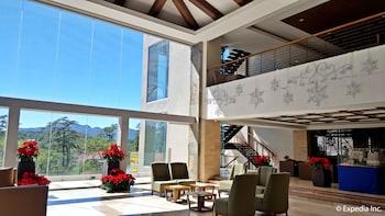 Newton Plaza Hotel Baguio Lobby Sitting Area