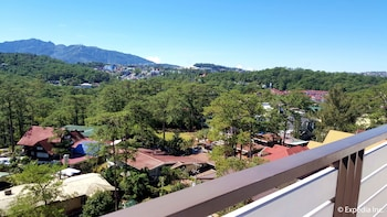 Newton Plaza Hotel Baguio View from Room