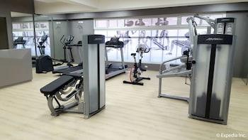 Newton Plaza Hotel Baguio Gym