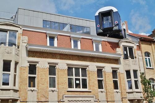 Train Hostel, Bruxelles