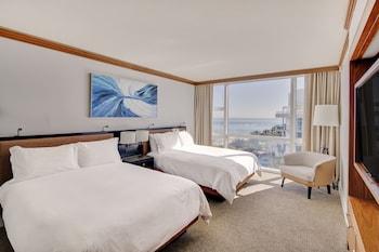 Luxury Apartment, 1 Bedroom, Ocean View (2 Queen Beds)