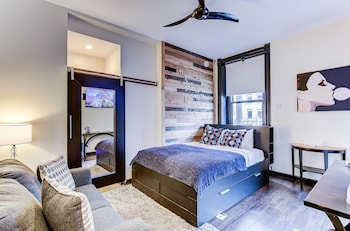 Basic Single Room, 1 Queen Bed