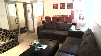 Lobby Lounge at Cityview Studio Accommodation in Leichhardt
