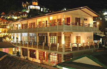 Angelyns Dive Resort Puerto Galera Hotel Front - Evening/Night