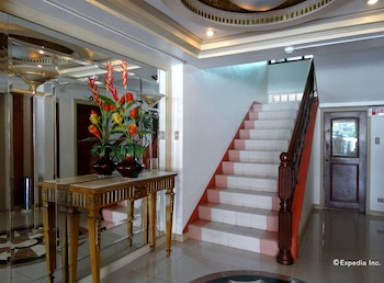 Orange Grove Hotel Davao Staircase