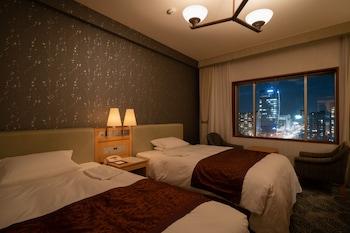 デラックス ツインルーム 喫煙可|32㎡|ホテルオークラ新潟