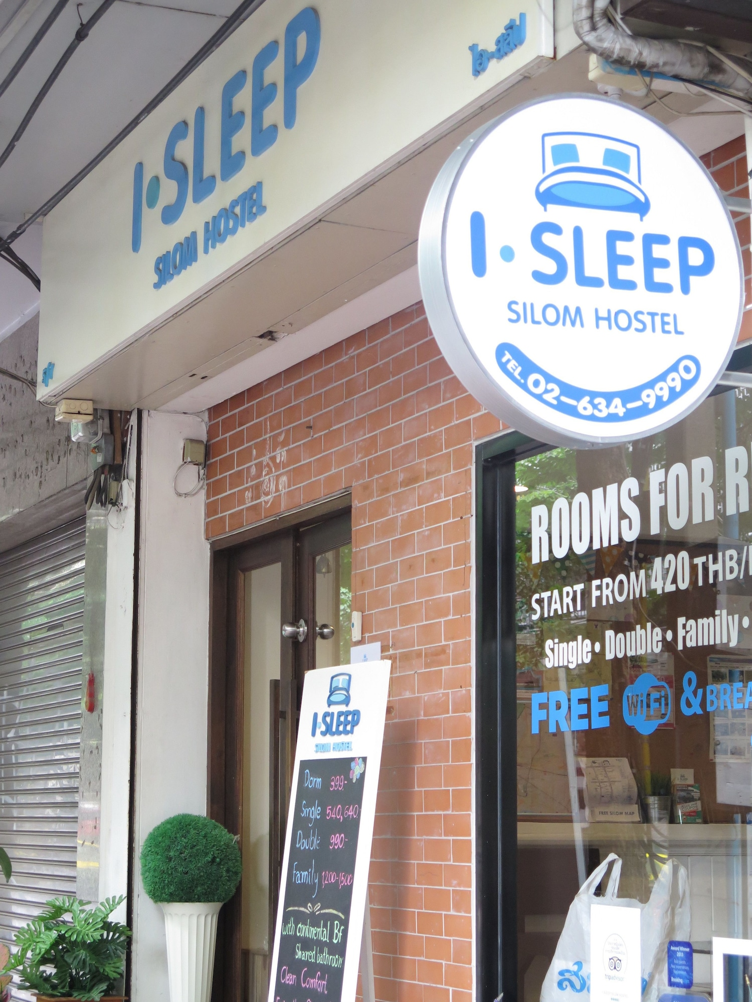 I-Sleep Silom Hostel, Bang Rak