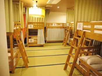 2段ベッド男女混合ドミトリーの1人宿泊 禁煙|ホステル わさび名古屋駅前