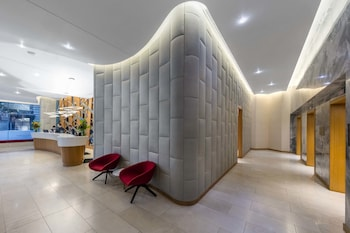 Lobby Sitting Area at The Tank Stream in Sydney