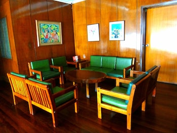 Pension Natividad Manila Lobby Sitting Area