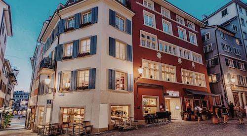 Zurych - Marktgasse Hotel - ze Szczecina, 2 kwietnia 2021, 3 noce