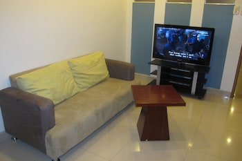 The Metropolis Suites Davao Living Room