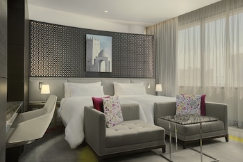 City Room, 2 Twin Beds, City View