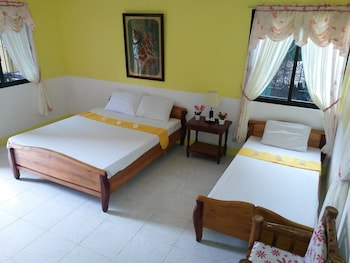 Flower Beach Resort Bohol Guestroom