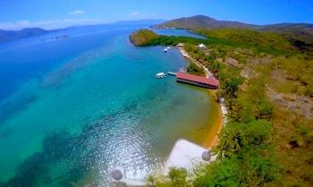 Chindonan Dive Resort Coron Aerial View