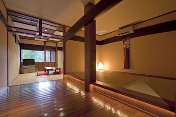 露天風呂付客室|常盤荘