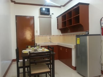 A Family Apartelle Bohol In-Room Dining